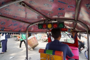 Lively Tuk Tuk ride