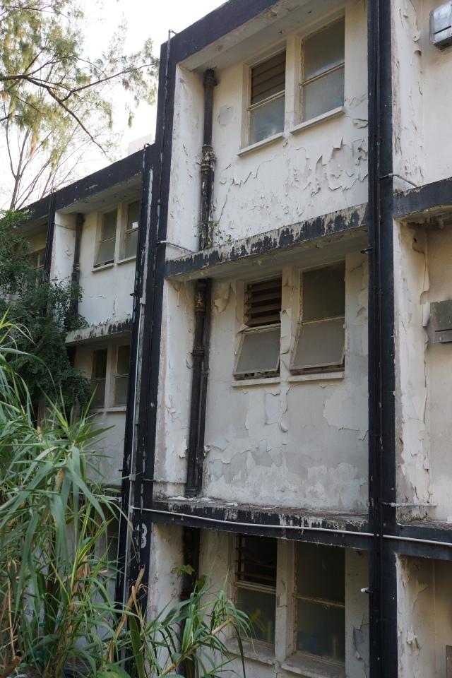 Apartment buildings - old military barracks