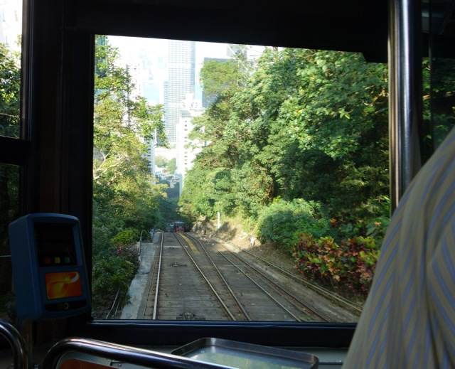One of the steepest tram rides in the world