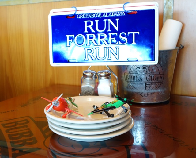 We had lunch at Bubba Gump -- couldn't believe here in Hong Kong.  Best fresh shrimp -- just like North Carolina.