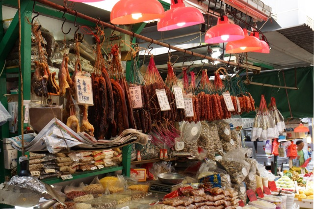 Love the hanging meat - Graham Street