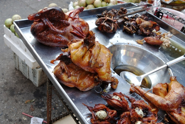 Chau Doc market -- love the goose