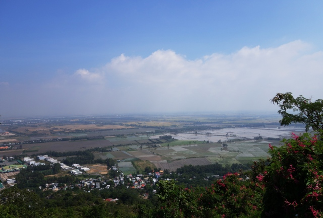 Vietnam view from top of Sam Mountain