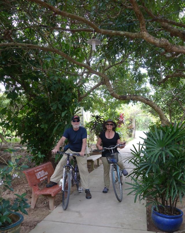 Morning bicycle ride