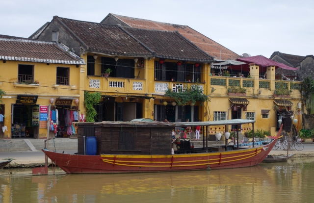 Along the river -- Hoi An was once a large port
