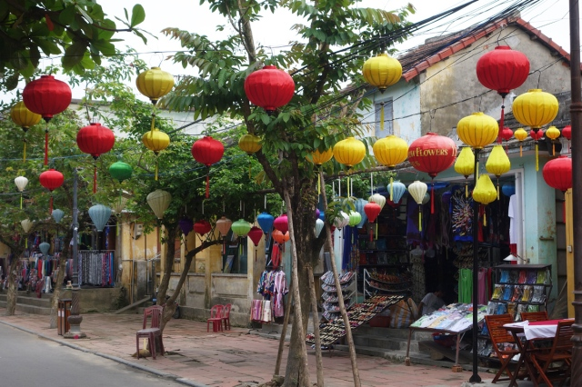 Beautiful lanterns -- made in Hoi An