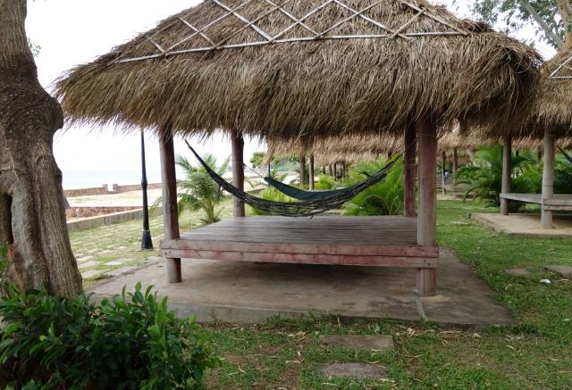 Local hammocks along beach