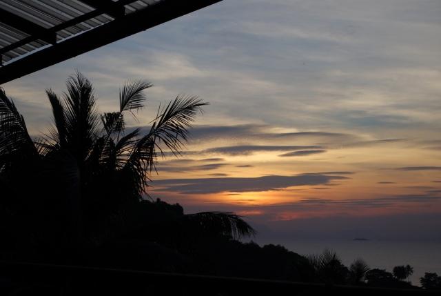 Fantastic sunset every night