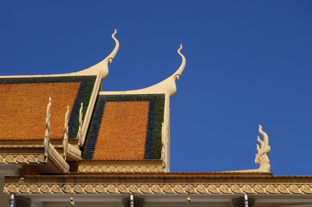 Detail of the  palace roof