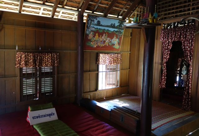 Upper floor of typical home on silts.