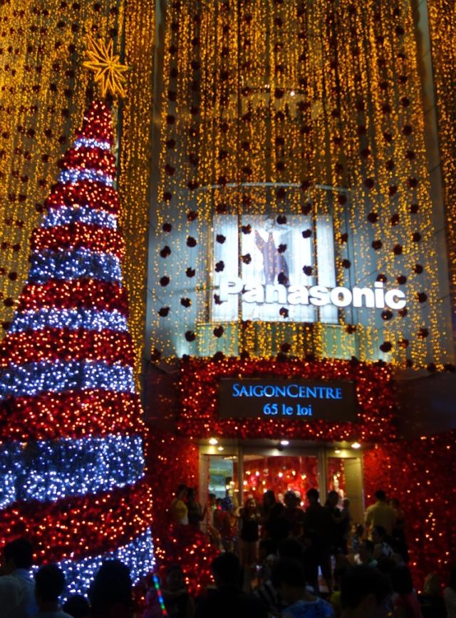 Christmas downtown Saigon