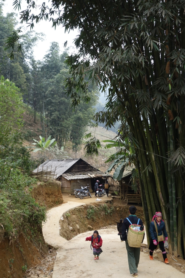 A small village on the trek