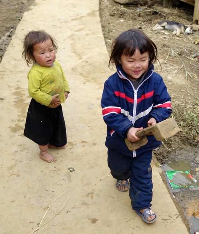 Children in the village