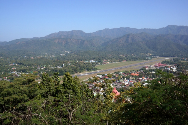 Mae Hong Son and airport