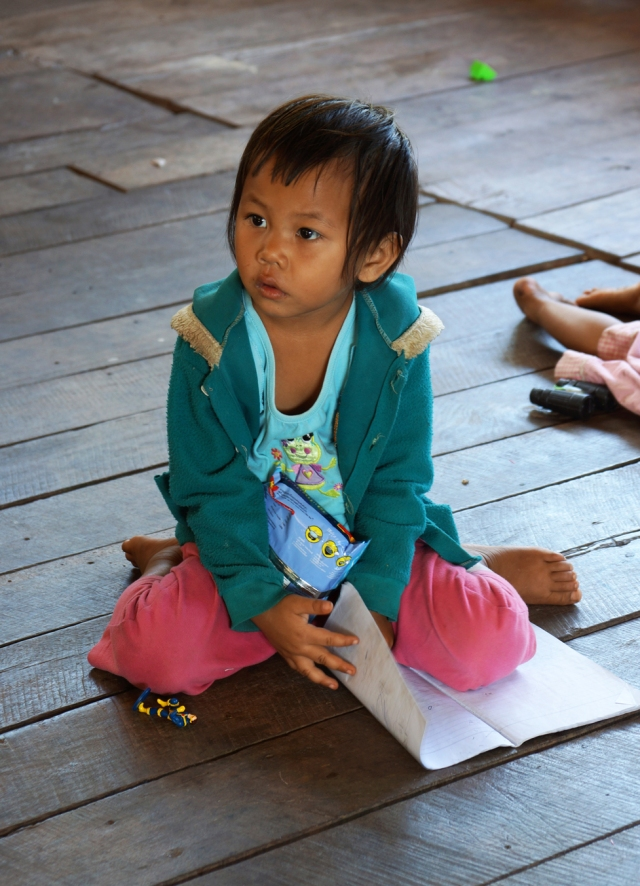 She was learning Burmese along with their own dialect and Thai.