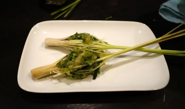 Stuffed Lemongrass