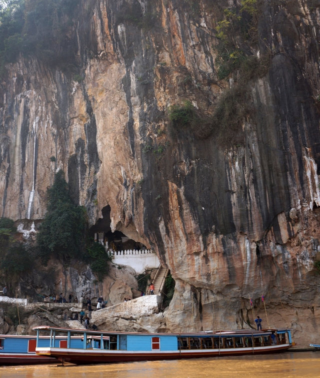 Entrance to Pak Ou Cave
