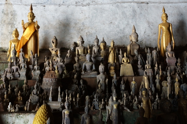 Amazing how many Buddha have been placed in the cave over the years