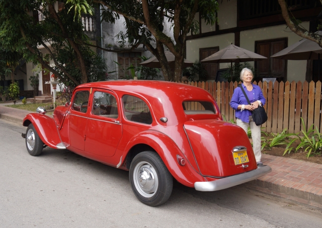 Anyone know the make of this car we found on the streets of Luang Prabang