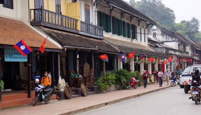 Downtown Luang Prabang